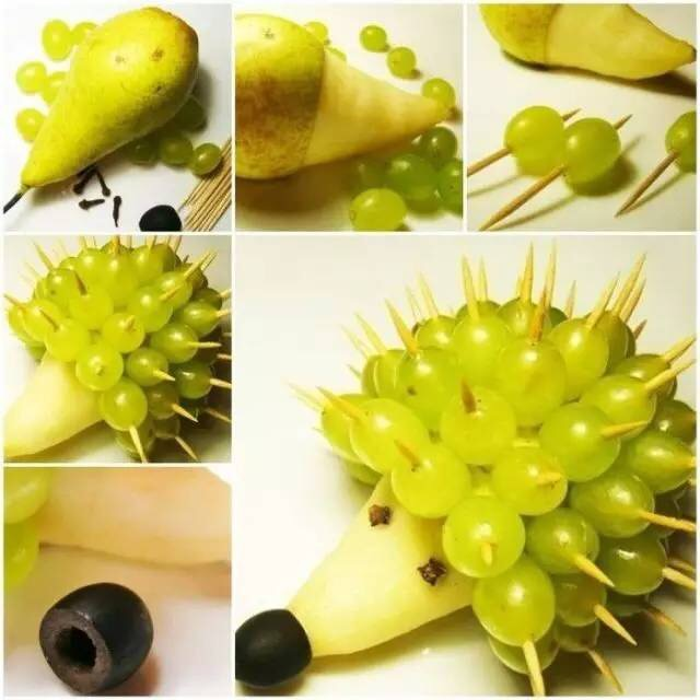 立体水果雕,奇葩水果盘点亮一夏天!图片