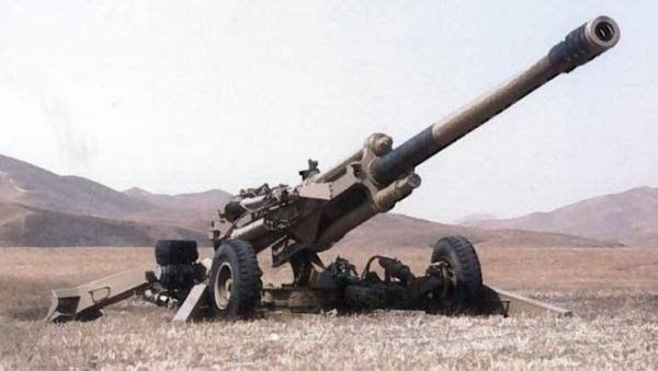 中国造出155毫米可折叠榴炮弹 长6米重4.5吨