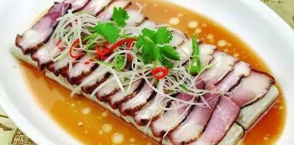 侯胜美食大厨周志强烤羊--酱油肉蒸臭豆腐美食城红山作品腿图片