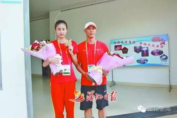三级跳陈婷_7月27日上午,世界青年田径锦标赛女子三级跳远冠军陈婷载誉归来,受到