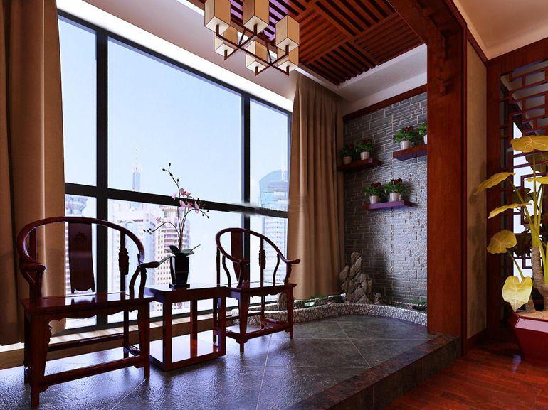 5种不同风格的阳台装修效果图 你最喜欢哪一种?