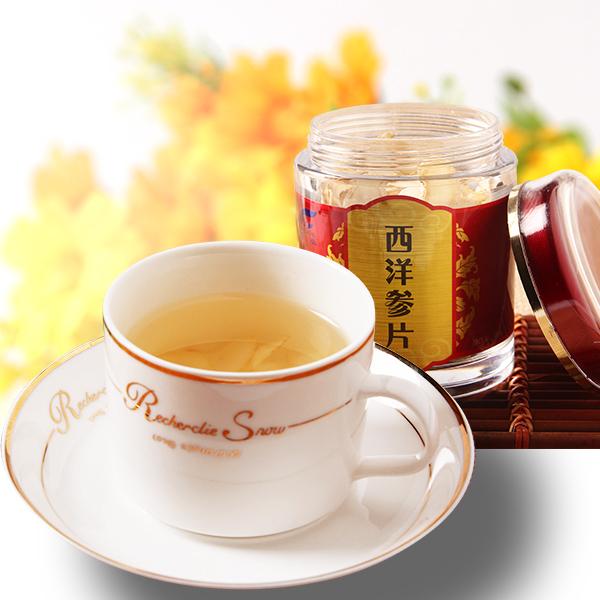 正文  在服用西洋参的时候不要喝茶,西洋参是益气补虚的滋补之物,茶叶