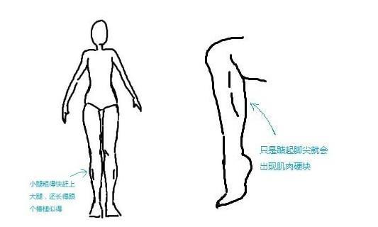 祖传 肌肉小腿瘦腿记 37cm瘦到31cm终成 筷子腿