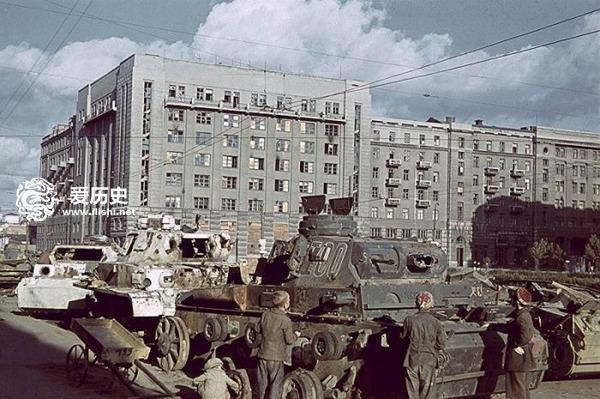 二战中被德军占领的苏联城市 5个月夺了4个德国