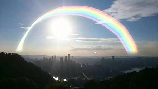 心中有彩虹,人生处处是彩虹-重