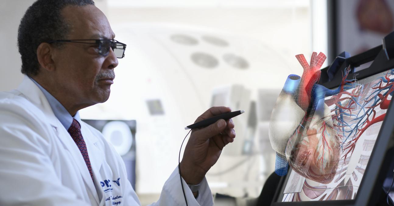 上海九杨科技强势推出VR医疗技术