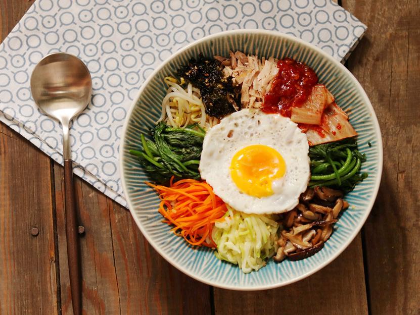 【夏·好食光】菜比饭多的韩式拌饭