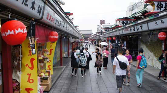 日本跟团旅游