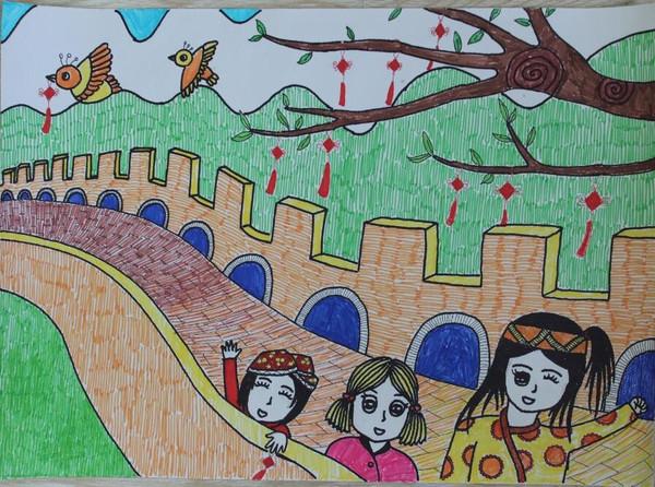 儿童画 600_446