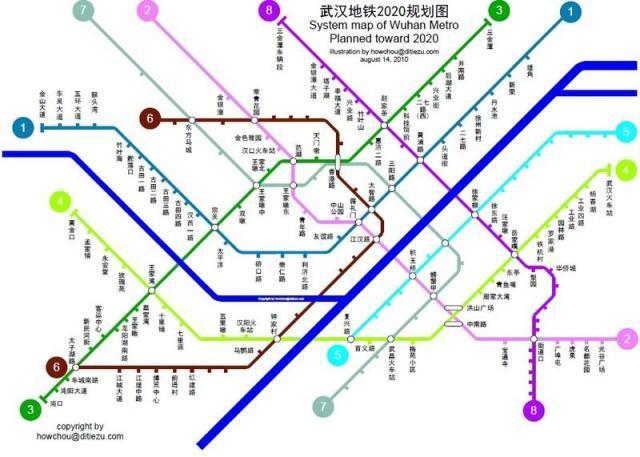 2049年武汉地铁线路图图片