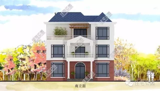此户型别墅为四层,共设13室7厅6卫1厨2露台2别墅.营口v户型阳台图片