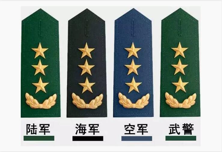 怎么样一眼识别解放军军衔等级