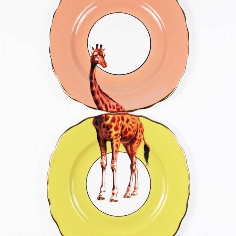 超有创意的动物盘子设计!