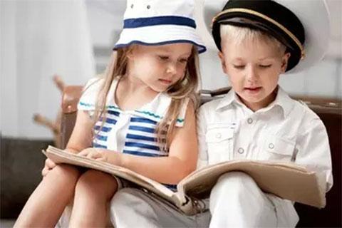 爱书的孩子永远不会寂寞!