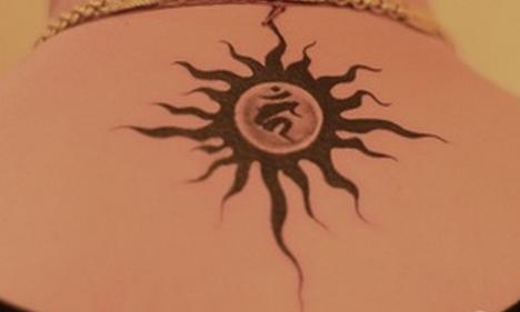 本命佛纹身图案分享展示