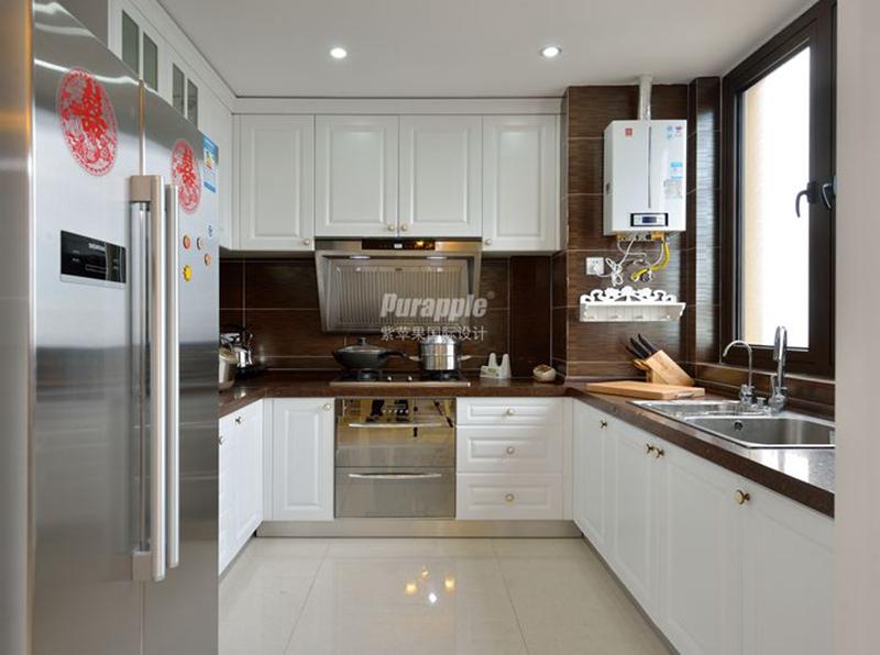 别墅装修橱柜颜色搭配原则
