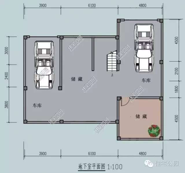 新农村自建房图纸15x13米