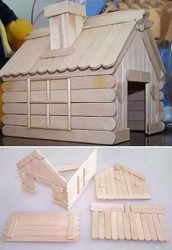 雪糕棍改造的小房子 img.mp.itc.cn 宽554x803高
