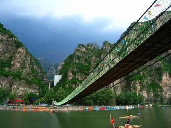 市房山区西庄村腾龙仙苑旅游度假风景区   自驾:   京昆高速公路——高清图片