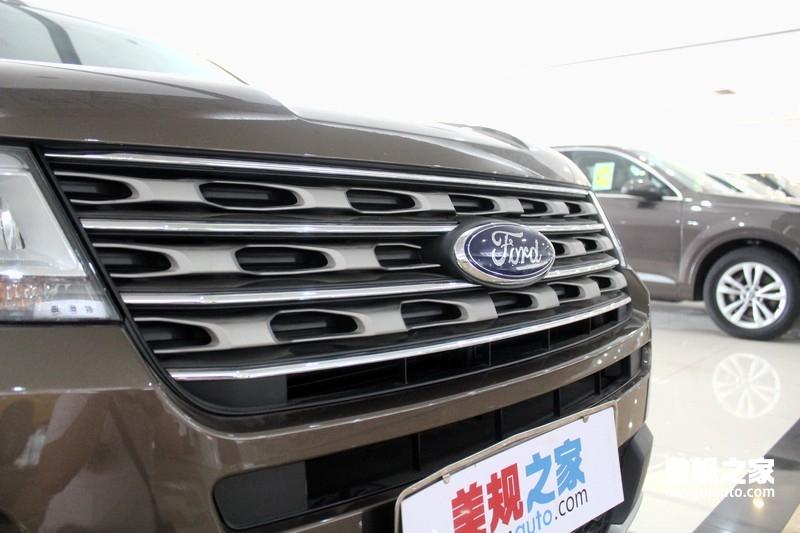 2016款福特探险者 PK 新款普拉多霸道系 -福特探险者