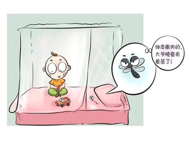 这夏天宝岂能被蚊虫欺负?必须来一场蚊虫大作战
