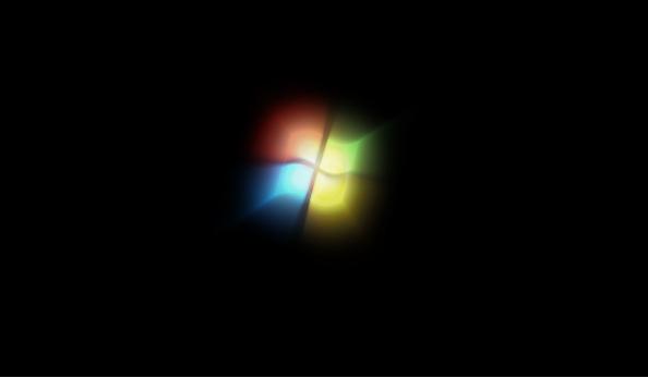 这是win7系统的开机启动画面图片