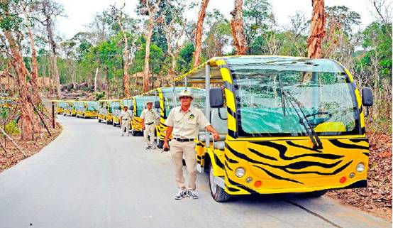 富国岛野生动物园是越南最大的野生保护动物园