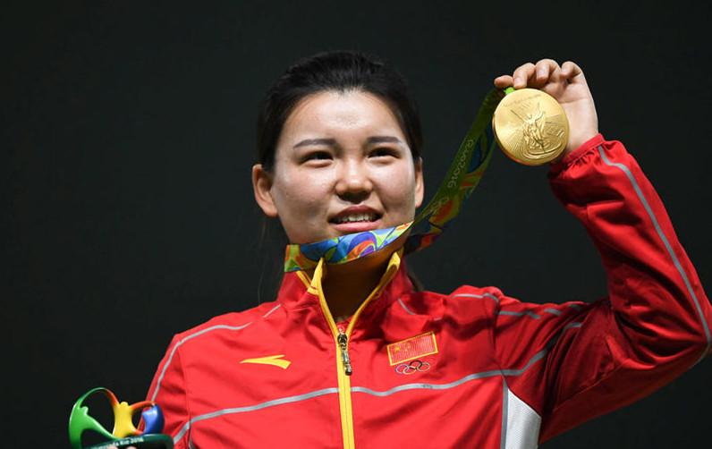 2016里约奥运会中国首金—张梦雪
