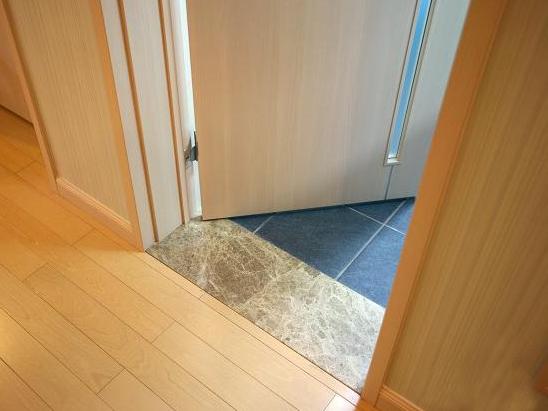 过门石安装效果图室内地砖过门石效果图图片3