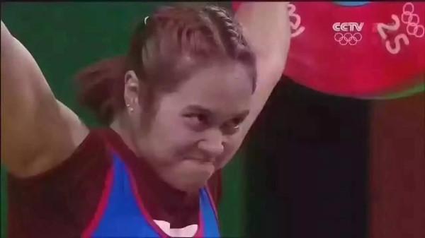 傅园慧行走的表情包吓得罗志祥,陈奕迅,吴奇隆,小李子图片