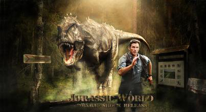 恐龙电影侏罗纪世界