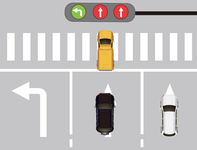 交通法规定:这样等红绿灯,扣3分罚150元!