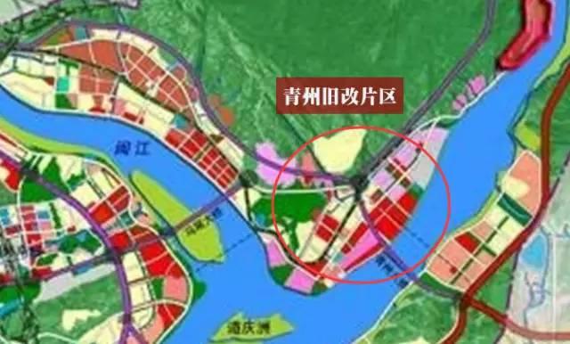 青洲片区旧屋区规划图