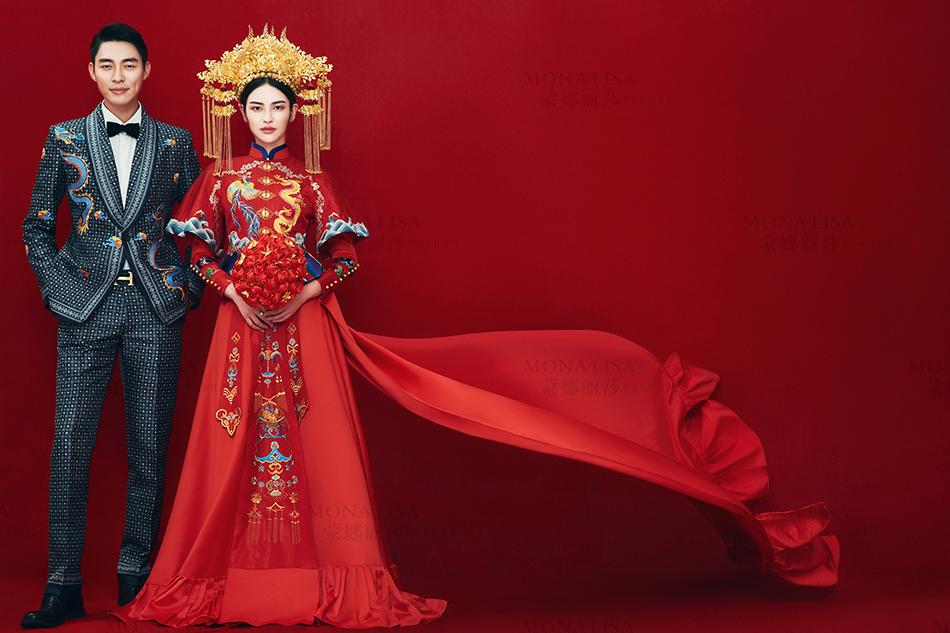 拍摄中式婚纱照怎样才不会落伍图片