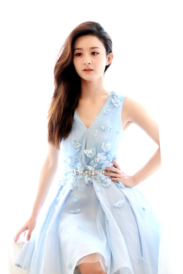 女王大人赵丽颖可爱迷人写真