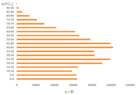 图4 中国人口抽样调查年龄分布-行业研究 互联网消费金融场景化研究