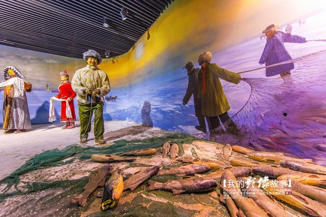 松原市规划展览馆现已成为松原市的标志性建筑.