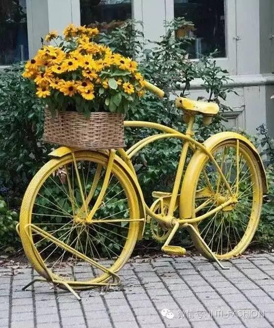 废旧自行车的各种超级变变变