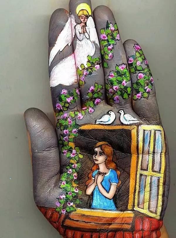 手心藏着一个童话世界 - 悠然 - 悠然的博客