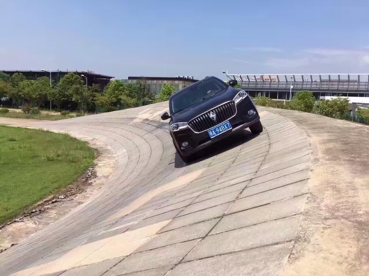 宝沃BX7 SUV 20万元内能享受到的四驱快感