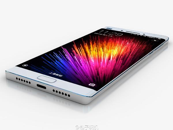 小米双曲面屏手机概念图来袭的照片 - 4