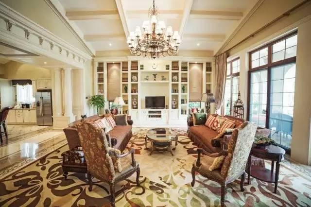 17栋欧式别墅林立,酒店特设风格别致的三房