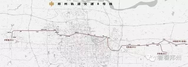 河南荥阳城区地图
