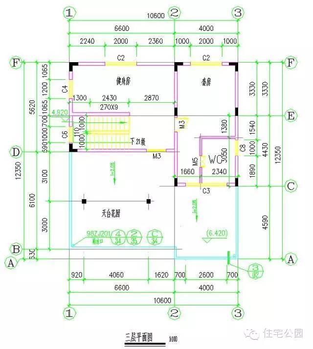 10x12米 全独卫卧室自建房分享