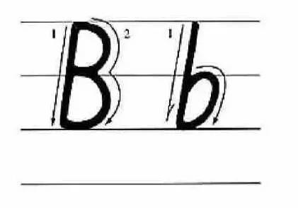26个英文字母的书写笔顺