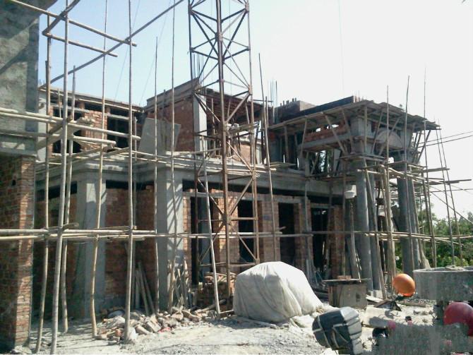 农村自建经济型别墅过程,附户型设计图和注意事项