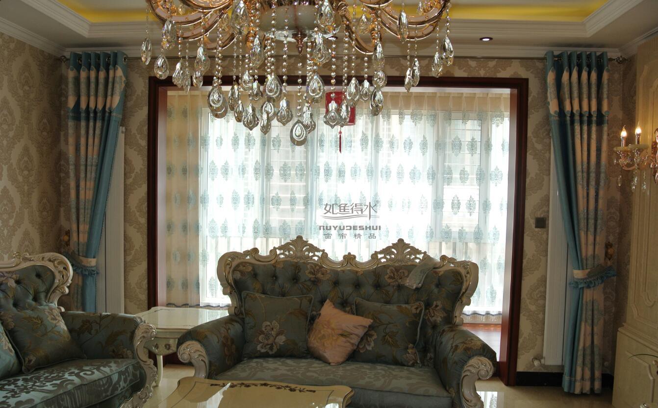 最新款客厅卧室及餐厅窗帘效果图欧式制作,窗帘搭配知识
