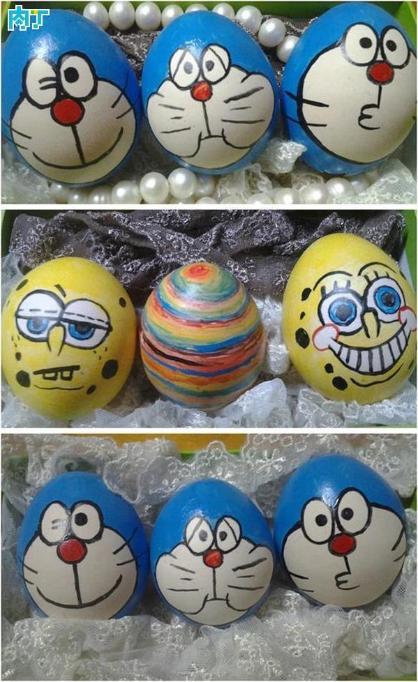 简单易学的蛋壳手绘