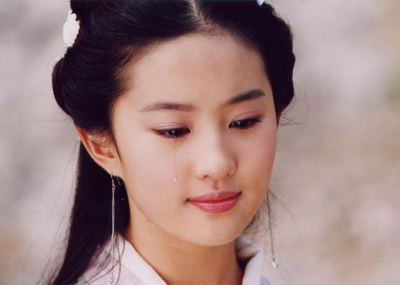 哭戏最美的古装女子 她比刘亦菲更美!