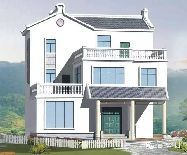 新农村自建房10米x9米图纸